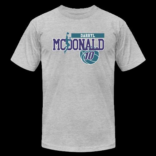 Darryl McDonald ball - Men's Fine Jersey T-Shirt