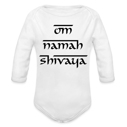 One piece  - Organic Long Sleeve Baby Bodysuit
