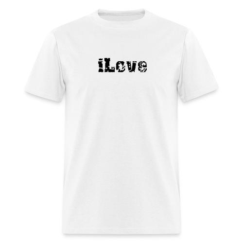 iLove - Men's T-Shirt