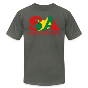 South Africa - Men's T-Shirt by American Apparel