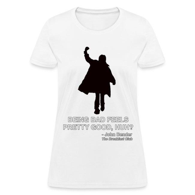 6d45a9da3 TARDIS BABES | JOHN BENDER - THE BREAKFAST CLUB - Womens T-Shirt