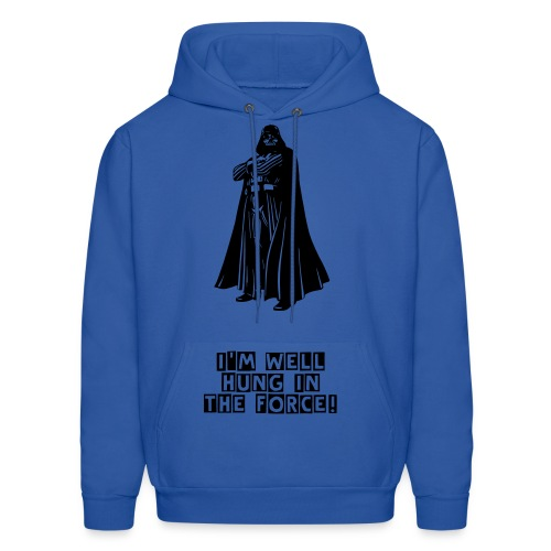 I'm well hung in the force Darth Vader hoodie - Men's Hoodie