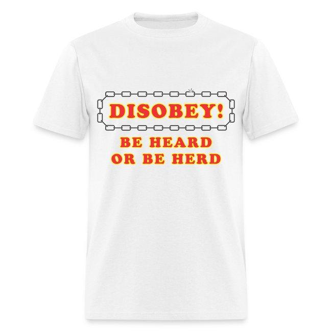 Disobey Heard