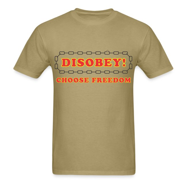 disobey freedom