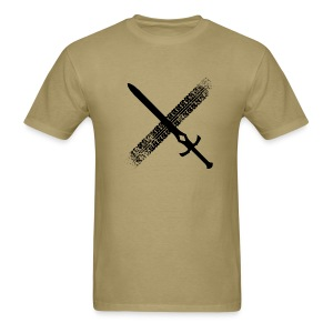DFTM- Sword - Men's T-Shirt