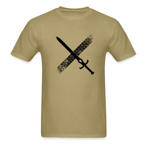 DFTM- Sword - Men's T-Shirt