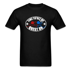 DFTM- Quest On - Men's T-Shirt