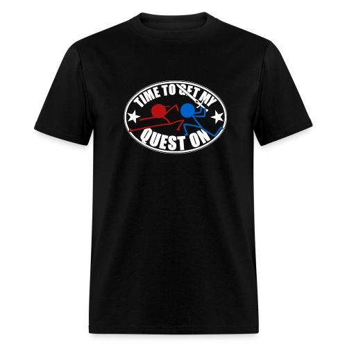 DFTM- Quest On - Men's T-Shirt