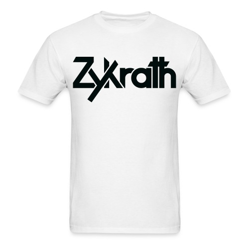 Zykrath Tee (Black Text) [MEN'S] *25% OFF!* - Men's T-Shirt