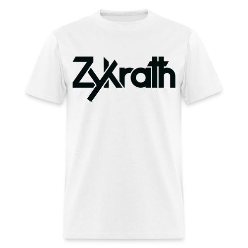 Zykrath Tee (Black Text) [MEN'S] *25% OFF!* - Men's T-Shirt