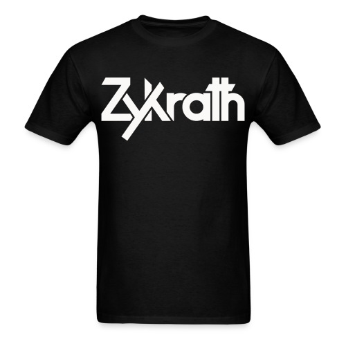 Zykrath Tee (White Text) [MEN'S] *25% OFF!* - Men's T-Shirt