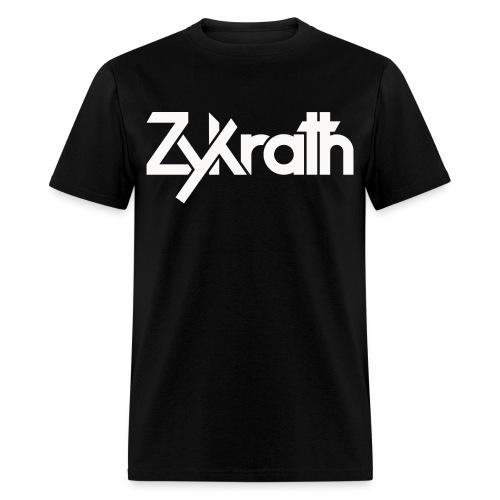 Zykrath Tee (White Text) [MEN'S] *25% OFF!* - Men's T-Shirt