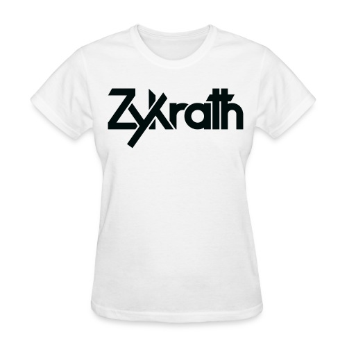 Zykrath Tee (Black Text) [WOMEN'S] *25% OFF!* - Women's T-Shirt