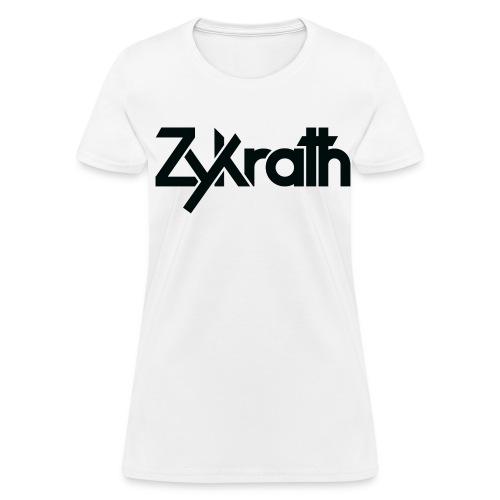 Zykrath Tee (Black Text) [WOMEN'S] *25% OFF!* - Women's T-Shirt