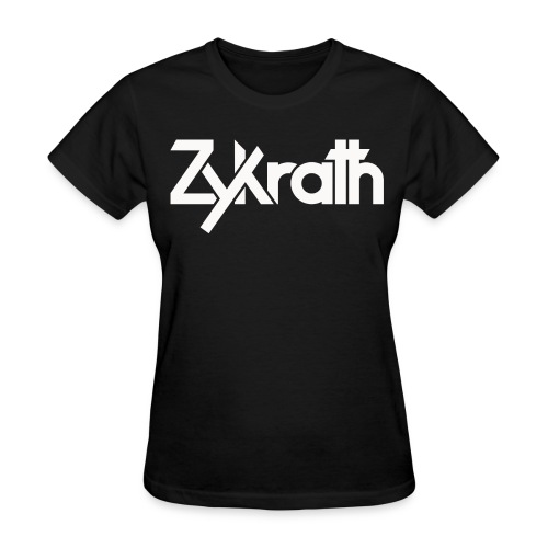 Zykrath Tee (White Text) [WOMEN'S] *25% OFF!* - Women's T-Shirt