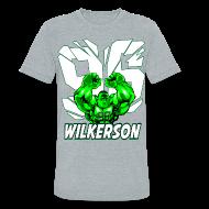 T-Shirts ~ Unisex Tri-Blend T-Shirt ~ Wilkerson Hulk Mens Super Soft T