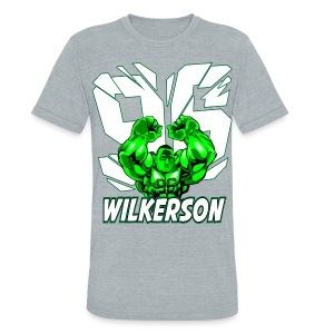 Wilkerson Hulk Mens Super Soft T - Unisex Tri-Blend T-Shirt by American Apparel