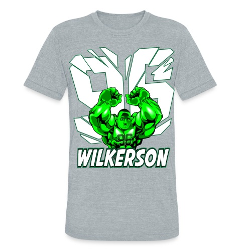 Wilkerson Hulk Mens Super Soft T - Unisex Tri-Blend T-Shirt