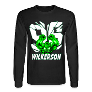 Long Sleeve Shirts ~ Men's Long Sleeve T-Shirt ~ Wilkerson Hulk Mens Long Sleeve T Shirt