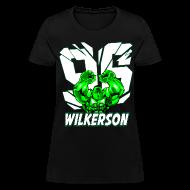 T-Shirts ~ Women's T-Shirt ~ Wilkerson Hulk Womens T Shirt