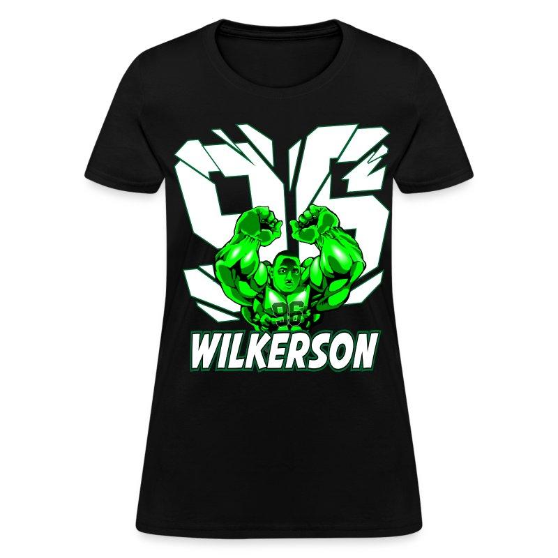 Wilkerson Hulk Womens T Shirt - Women's T-Shirt