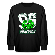 Kids' Shirts ~ Kids' Long Sleeve T-Shirt ~ Wilkerson Hulk Kids Long Sleeve T Shirt