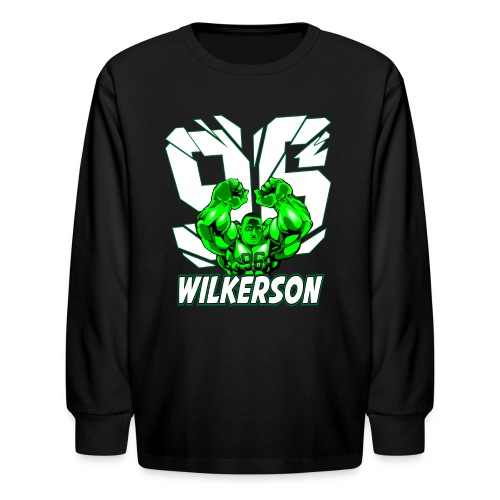 Wilkerson Hulk Kids Long Sleeve T Shirt - Kids' Long Sleeve T-Shirt