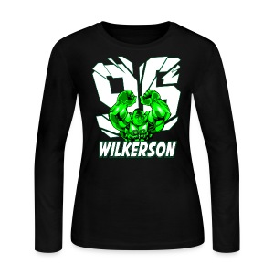Wilkerson Hulk Womens Long Sleeve  - Women's Long Sleeve Jersey T-Shirt