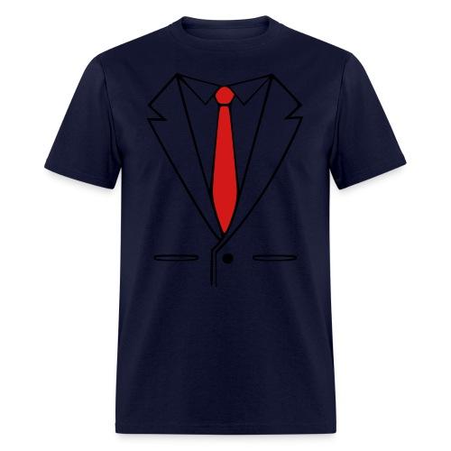 Suit & Tie Standard T-shirt - Men's T-Shirt