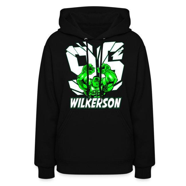 Wilkerson Hulk Womens Hoodie