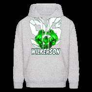 Hoodies ~ Men's Hoodie ~ Wilkerson Mens Hulk Hoodie