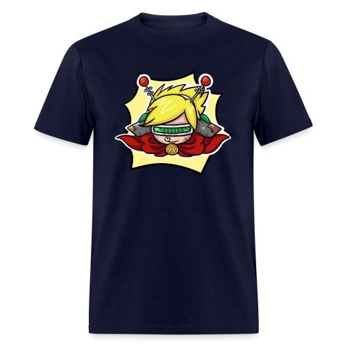 Nerd Paca boy design.png - Men's T-Shirt