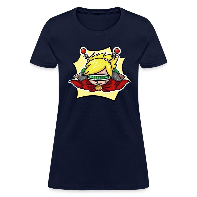 Nerd Paca boy design.png - Women's T-Shirt