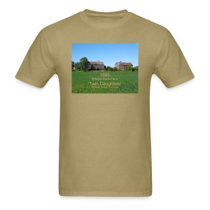 Twin Daughters Twin Barns - Men's T-Shirt