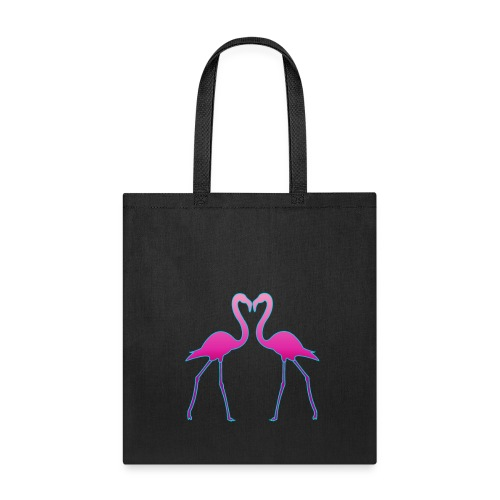Flamingo in Love - Tote Bag