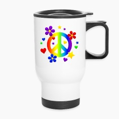 Peace for All Bottles & Mugs