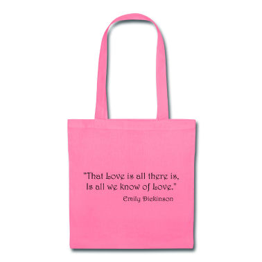 Emily Dickinson on Love Bags & backpacks