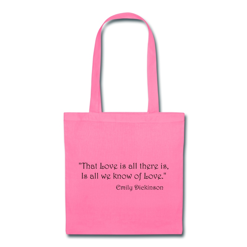 Emily Dickinson on Love Bags & backpacks - Tote Bag