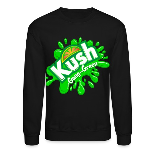 Kush - Green - Crewneck Sweatshirt