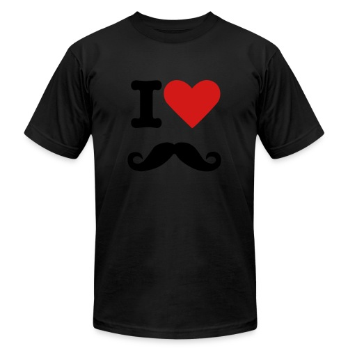 Moustache. - Men's Fine Jersey T-Shirt