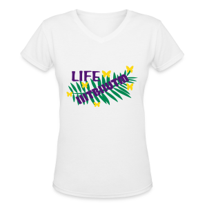 If it is to be it is up to me - Women's V-Neck T-Shirt