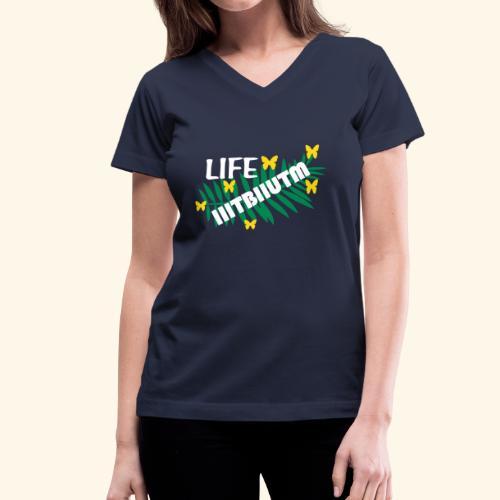 If it is to be it is up to me - Women's V-Neck T-Shirt