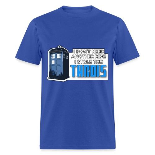 I STOLE THE TARDIS! - Men's T-Shirt