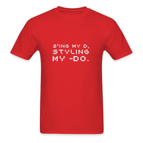 Styling My Do. - Men's T-Shirt