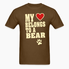MY HEART BELONGS TO A BEAR T-Shirts