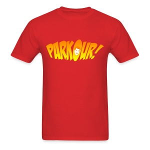 Parkour: New Girl - Men's T-Shirt
