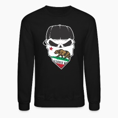 Cali Skull Long Sleeve Shirts