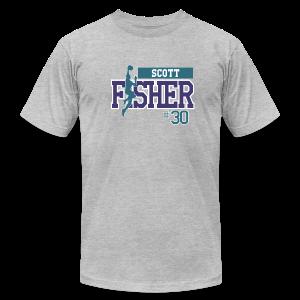 Scott Fisher hashtag - Men's Fine Jersey T-Shirt