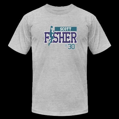 Scott Fisher hashtag - Men's  Jersey T-Shirt