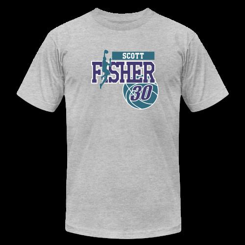 Scott Fisher ball - Men's Fine Jersey T-Shirt